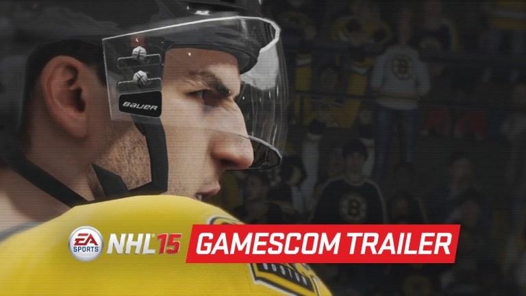 NHL 15 - Official Gameplay TrailerGamescom 2014
