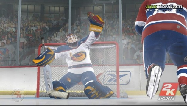 NHL 2K7 announced + screens