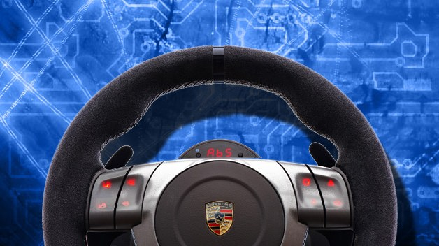 Porsche 911 Playstation 3 Steering Wheel Review