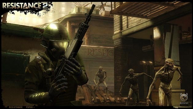 Resistance 2 beta begins in America