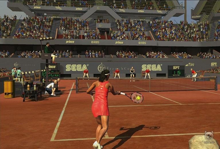 SEGA cause a racquet
