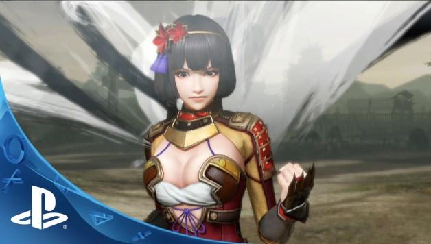 Samurai Warriors 4 - Battle Trailer