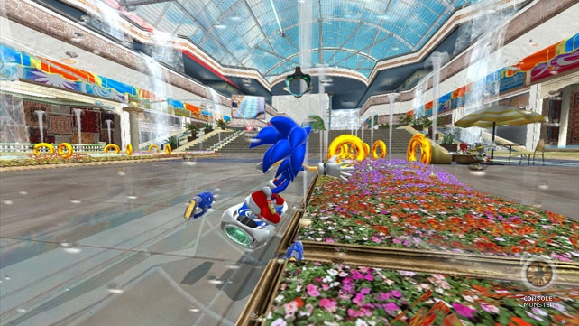 Sonic Free Riders demo lands for Kinect owners