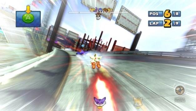Sonic & SEGA All-Stars Racing Transformed Review
