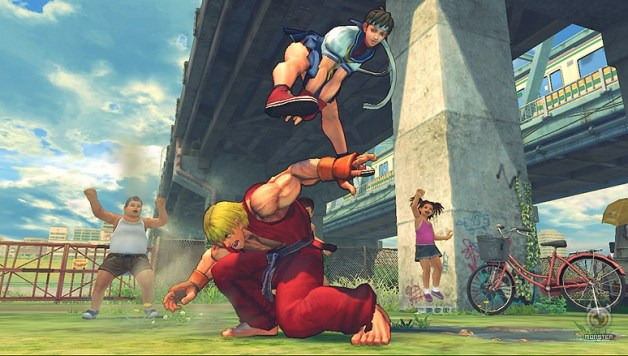Street Fighter IV scans