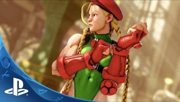 Street Fighter V - Gameplay trailer E3 2015