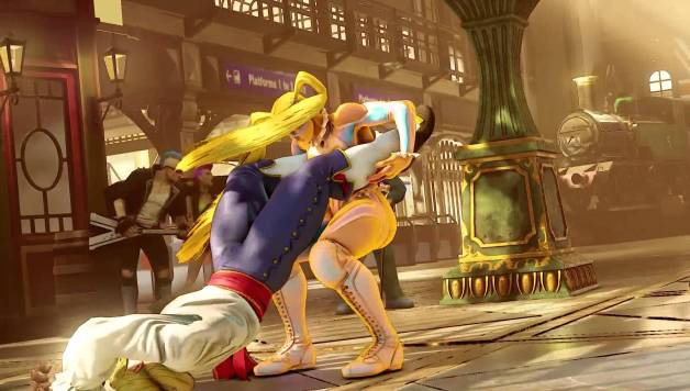 Street Fighter V - Rainbow Mika Reveal