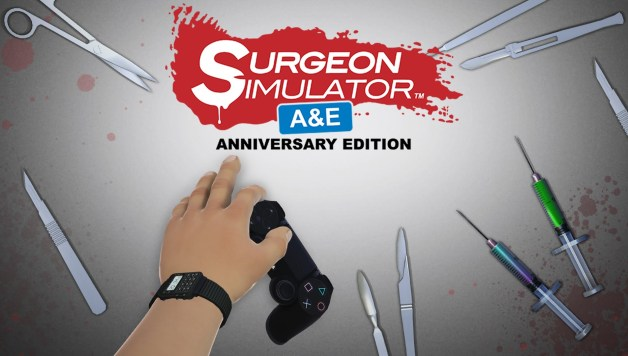 Surgeon Simulator - Anniversary Edition Coming to PlayStation 4