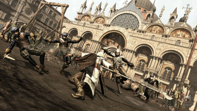 Three times the workforce for Assassins Creed 2