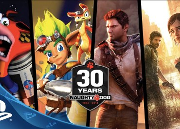 UNCHARTED - Naughty Dog 30th Anniversary Video Promo