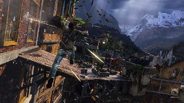 Uncharted 2 trailer shows Nathan a bit beaten up