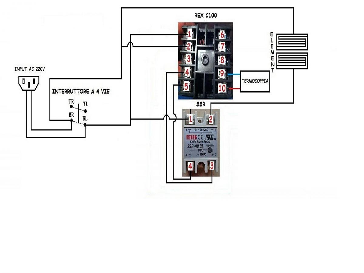 C100 Wiring Diagram