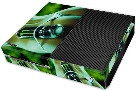 Microsoft XBox One Skin Monster Energy