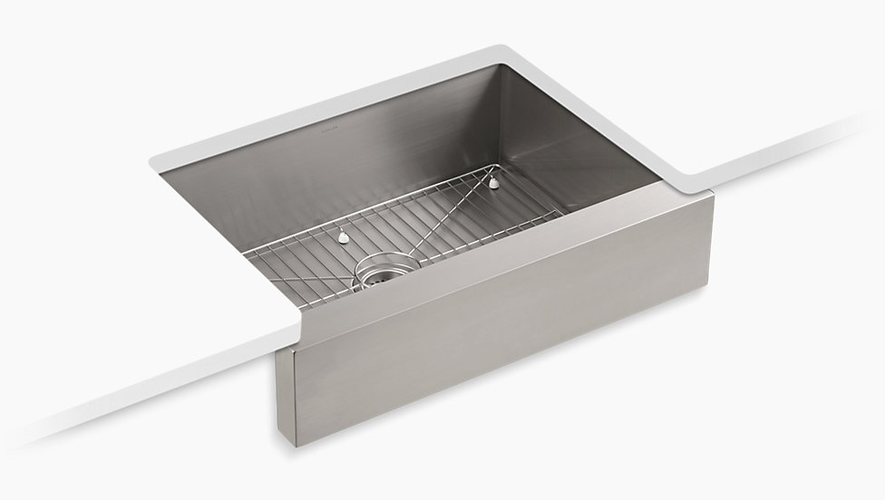 kohler stainless steel sinks