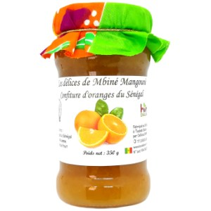 Confiture Oranges Douces 350g