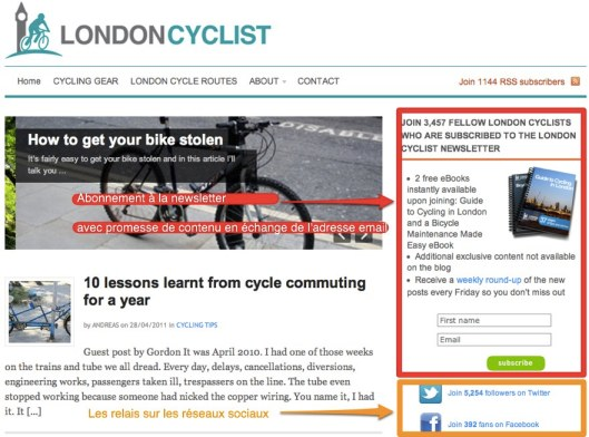 London Cyclist Blog
