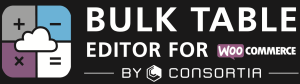 Bulk Table Editor logo black