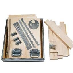 Arnia 10 favi cubo kit lamellare completa di ferramenta e viti