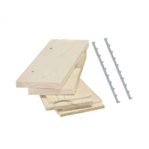 Melario in kit in legno lamellare 7 telaini