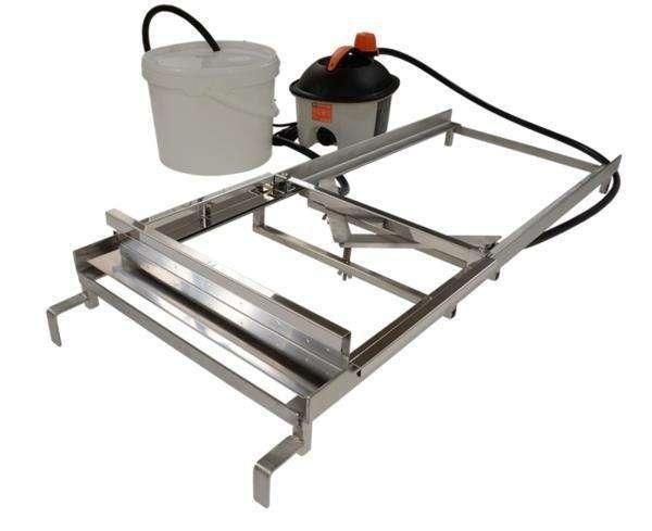 Disopercolatore manuale con lame riscaldate ad acqua Lyson