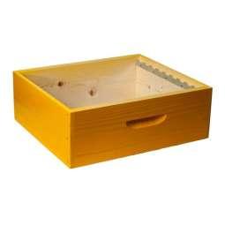 Melario legno lamellare montato verniciato 11 favi