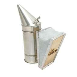 Affumicatore a imbuto zincato senza protezione (10*31 cm)