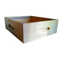 Melario legno lamellare montato non verniciato 9 favi