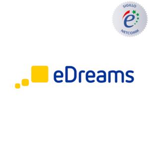 eDreams sito autorizzato sigillo netcomm
