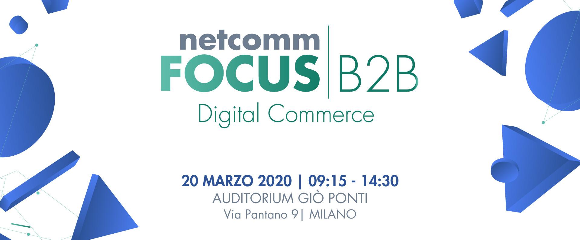Netcomm FOCUS B2B Digital Commerce 2020