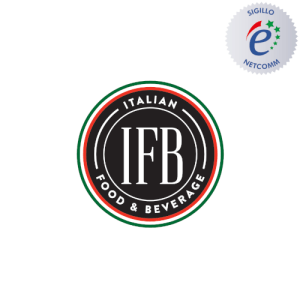 logo italian food beverage socio netcomm