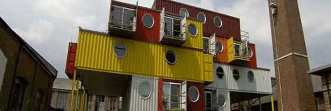 Originales et pas chères, que valent les maisons containers ?