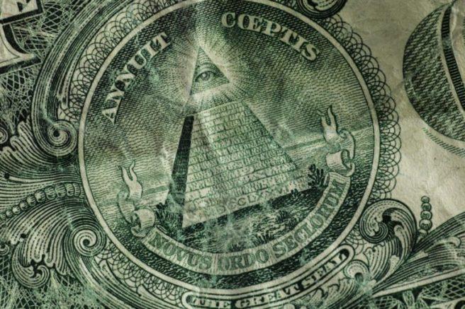 Dollar illuminati symbol