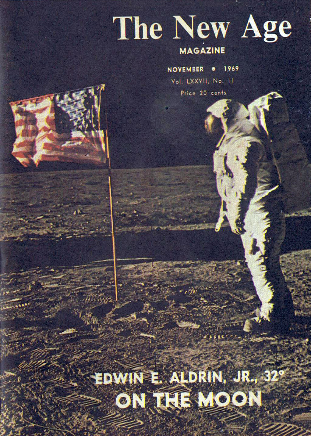 The New Age novembre 1969 Buzz Aldrin massone 32° grado