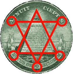 Red Star Illuminati Seal
