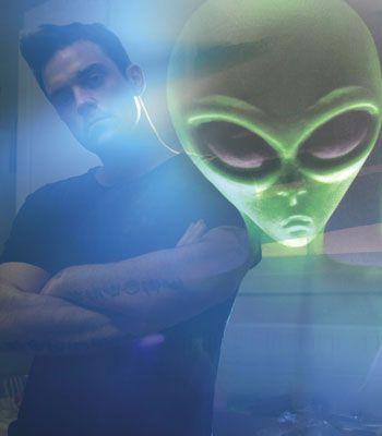 Robbie Williams Aliens