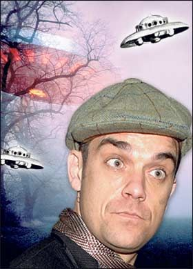 Robbie Williams UFO
