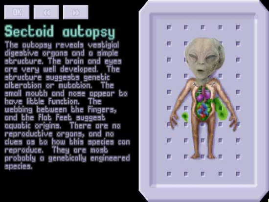 Sectoid Autopsy