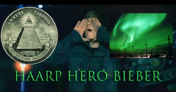 Justin Bieber Haarp Hero