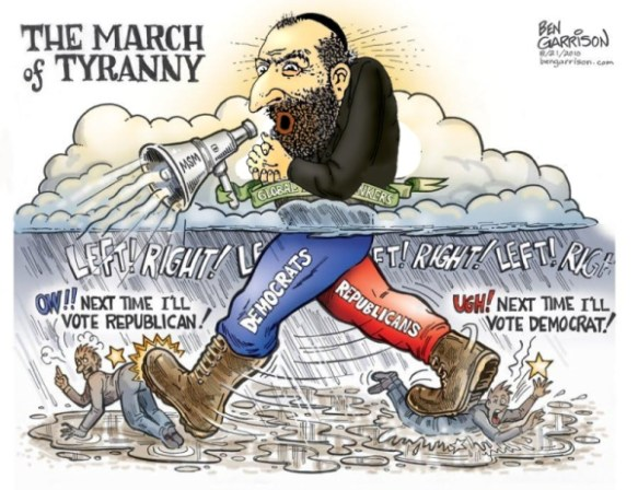 March of Tyranny - Far Right