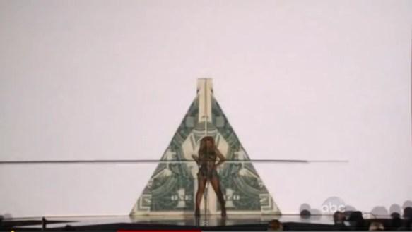Beyonce Illuminati Pyramid