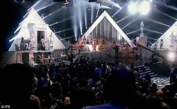 Beyonce Pyramid