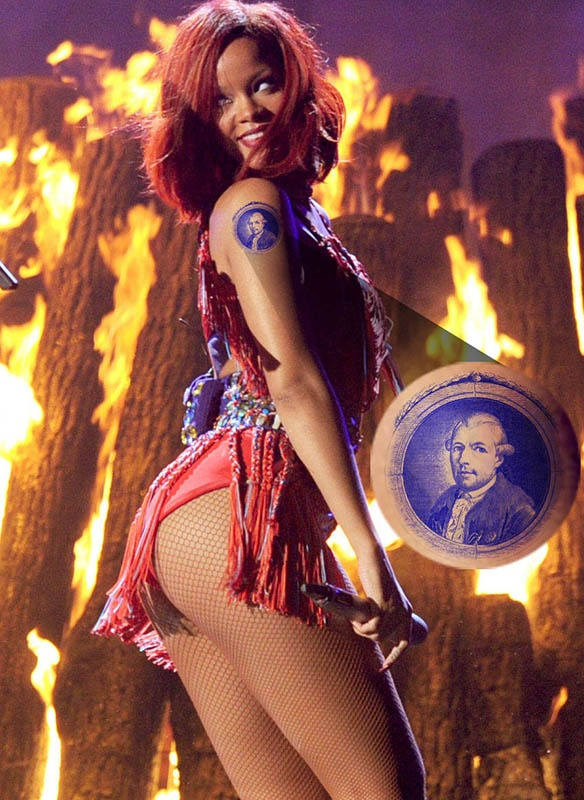 Rihanna Illuminati Weishaupt Tattoo