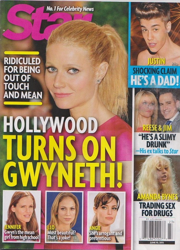 Paltrow Star Cover