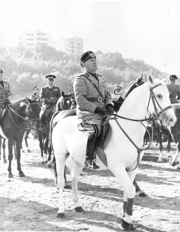 Mussolini White Horse