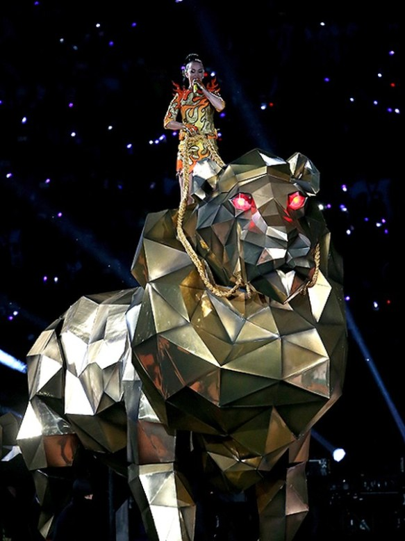 Katy Perry Lion Superbowl
