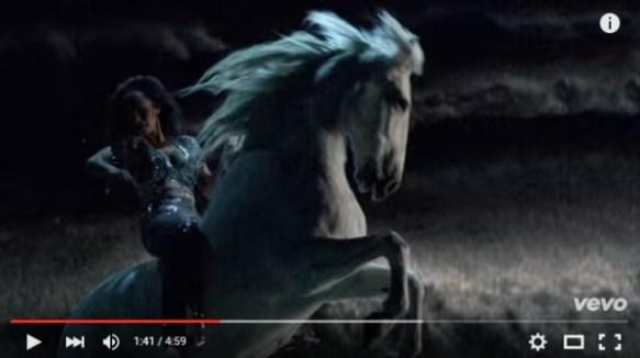 Sade White Horse