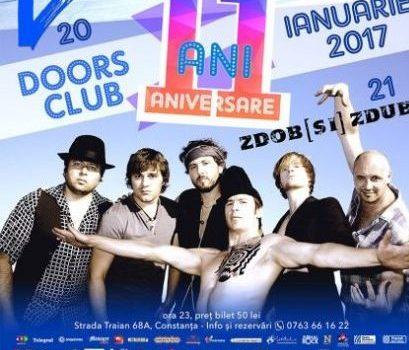 Concert aniversar 11 ANI Doors Club cu Zdob și Zdub