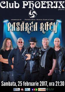 Concert Pasarea Rock la Club Phoenix