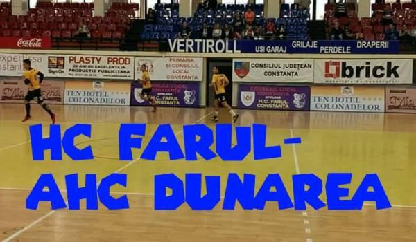 Meci amical-HC Farul Constanţa-AHC Dunārea
