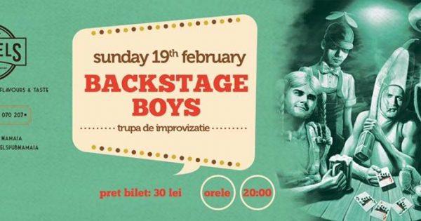 BackstageBoys la Barrels Pub Mamaia